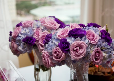 Best Tampa Wedding Florist Northside Florist - Purple Wedding Bouquet
