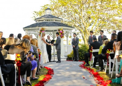 Best Tampa Wedding Florist - Northside Florist - Tropical Wedding Ceremony Flowers