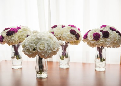 Best Tampa Wedding Florist Northside Florist - Purple Wedding Bouquets