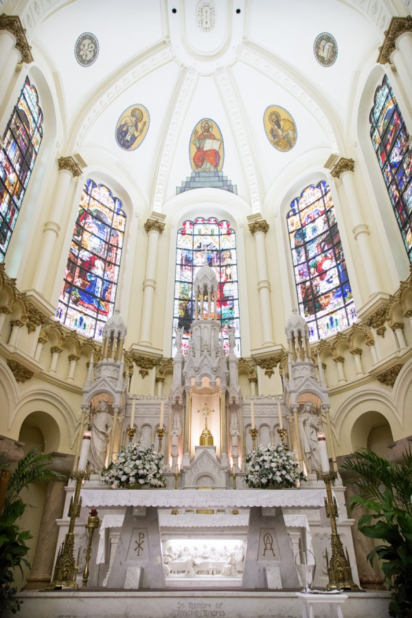 Tampa Wedding Ceremony Venue Sacred Heart Catholic Church