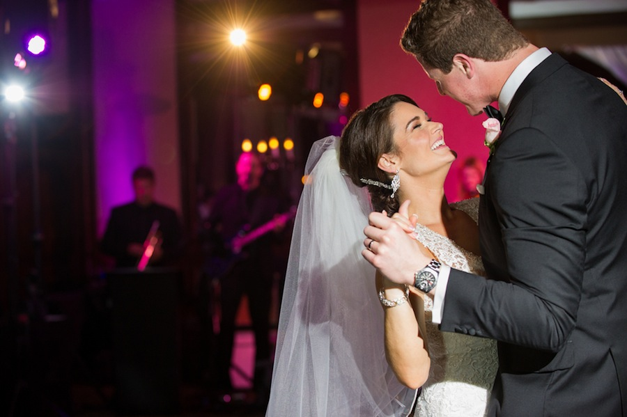 Tampa Bride and Groom First Dance on Wedding Day