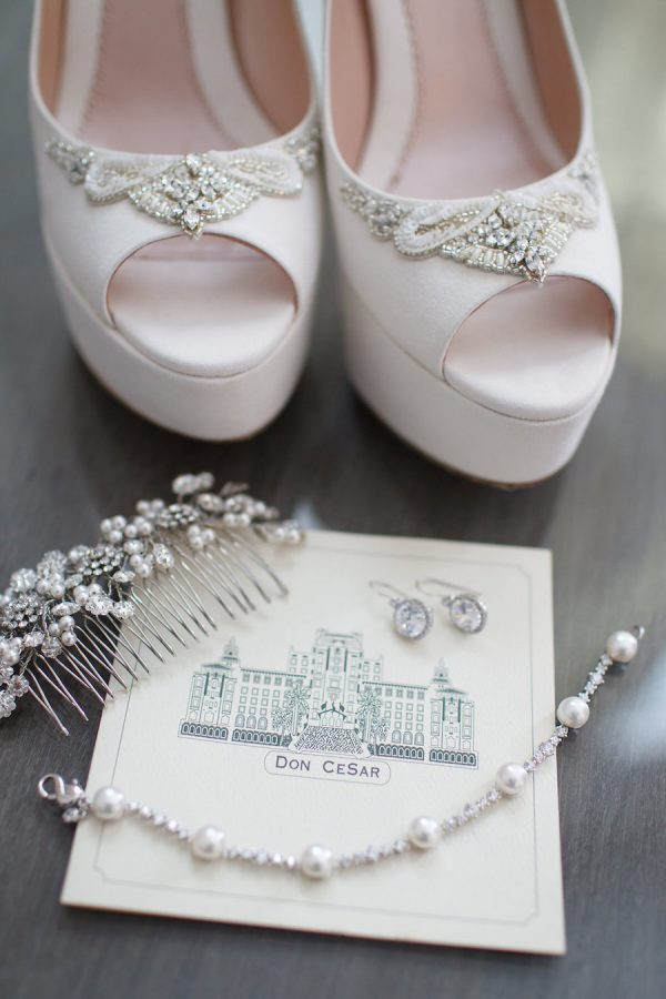 Getting Ready Details: Wedding Shoes and Jewlery
